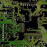 Placa eletrônica circuito impresso