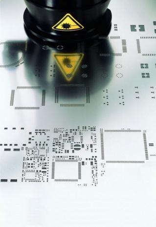 Stencil a Laser para montagem SMT / SMD